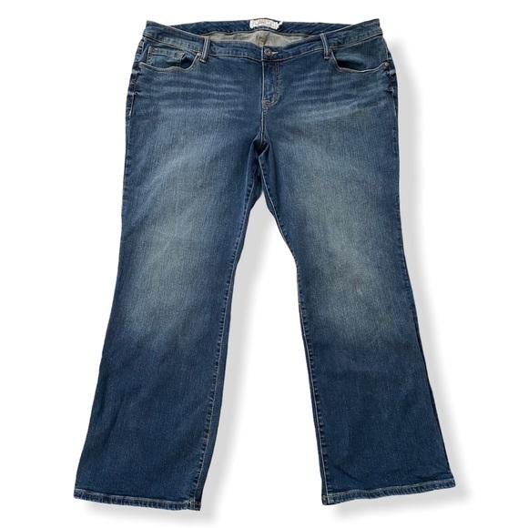 Torrid Denim Relaxed Boot Jeans Bootcut 26R Blue